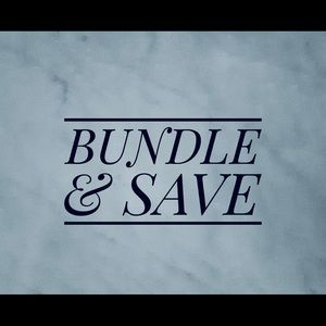Other - BUNDLE AND SEND AN OFFER